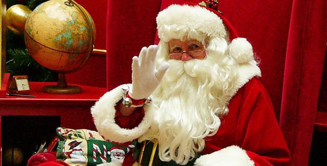 Babbo Natale A Domicilio.Animazione Con Babbo Natale A Domicilio A Roma
